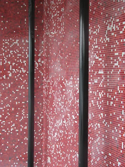 mozaïek Industriële bars & clubs van BNB architecten Industrieel