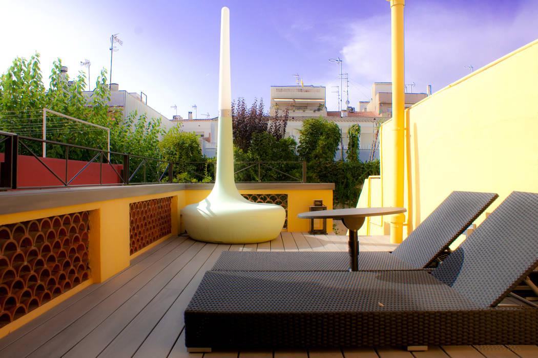 Терраса в средиземноморском стиле от CID DELTA, SA Средиземноморский