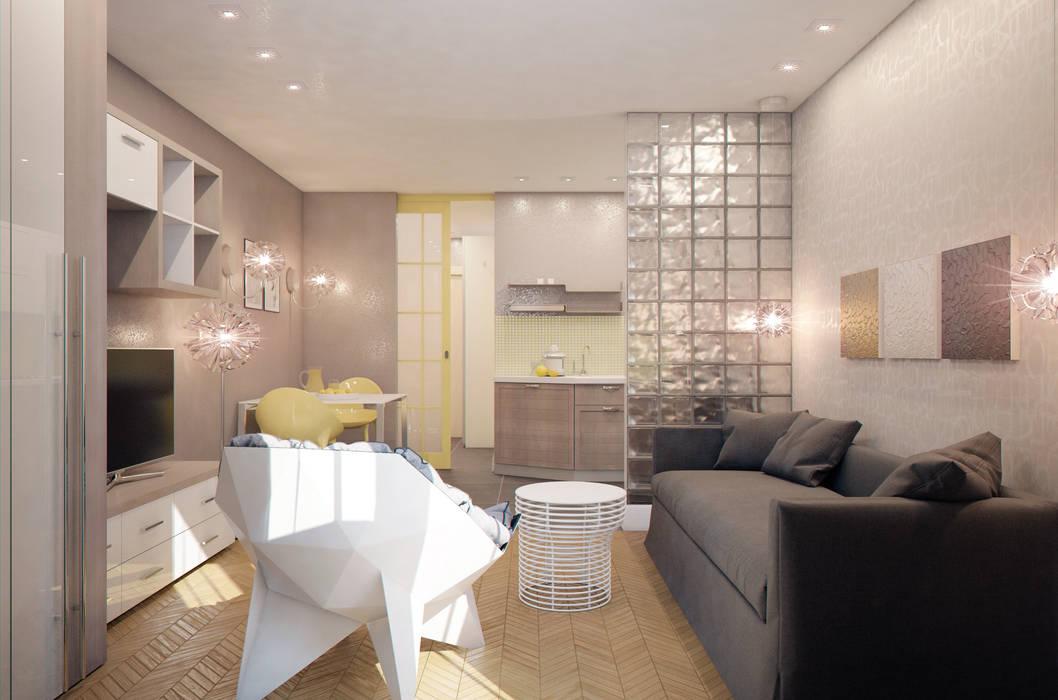 Living room by Marina Sarkisyan, Minimalist