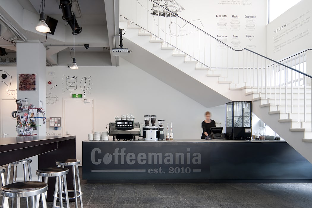 Bar Moderne bars & clubs van ontwerpplek, interieurarchitectuur Modern
