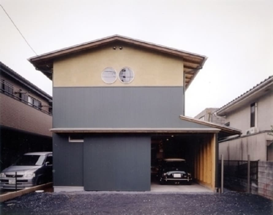 H2O設計室 ( H2O Architectural design office ) Asian style house