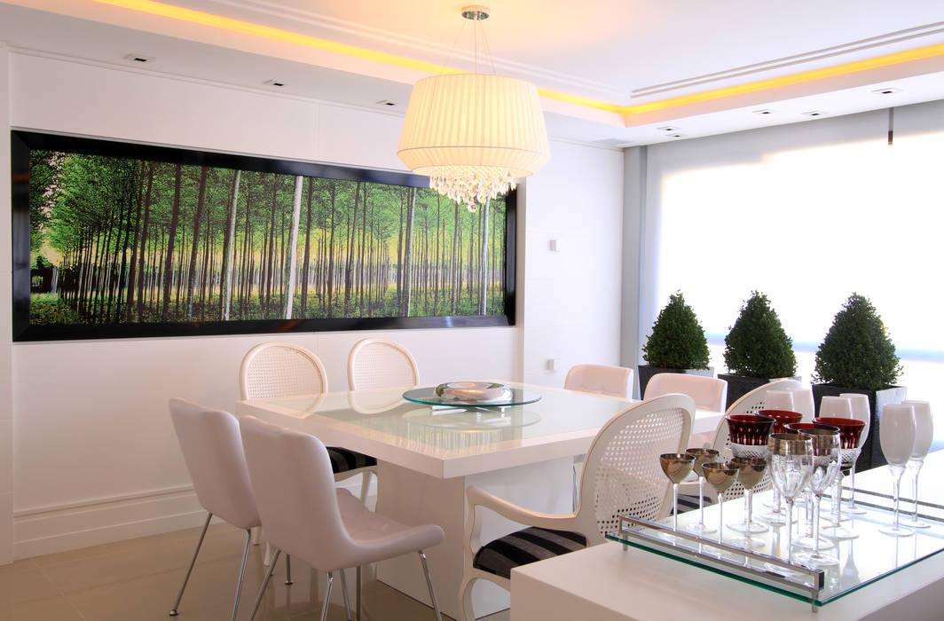 Apartamento Bela Vista 02: Salas de jantar  por Francisco Humberto Franck