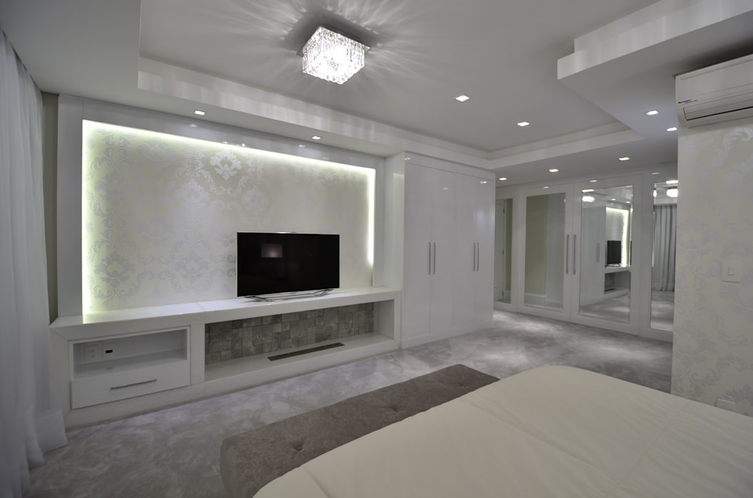 Apartamento Bela Vista Quartos clássicos por Francisco Humberto Franck Clássico