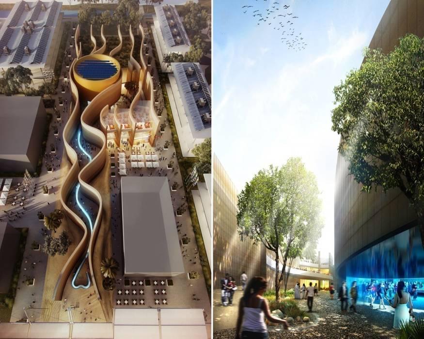 UAE Pavilion, Expo Milano 2015 Gonzato Contract Minimalist exhibition centres
