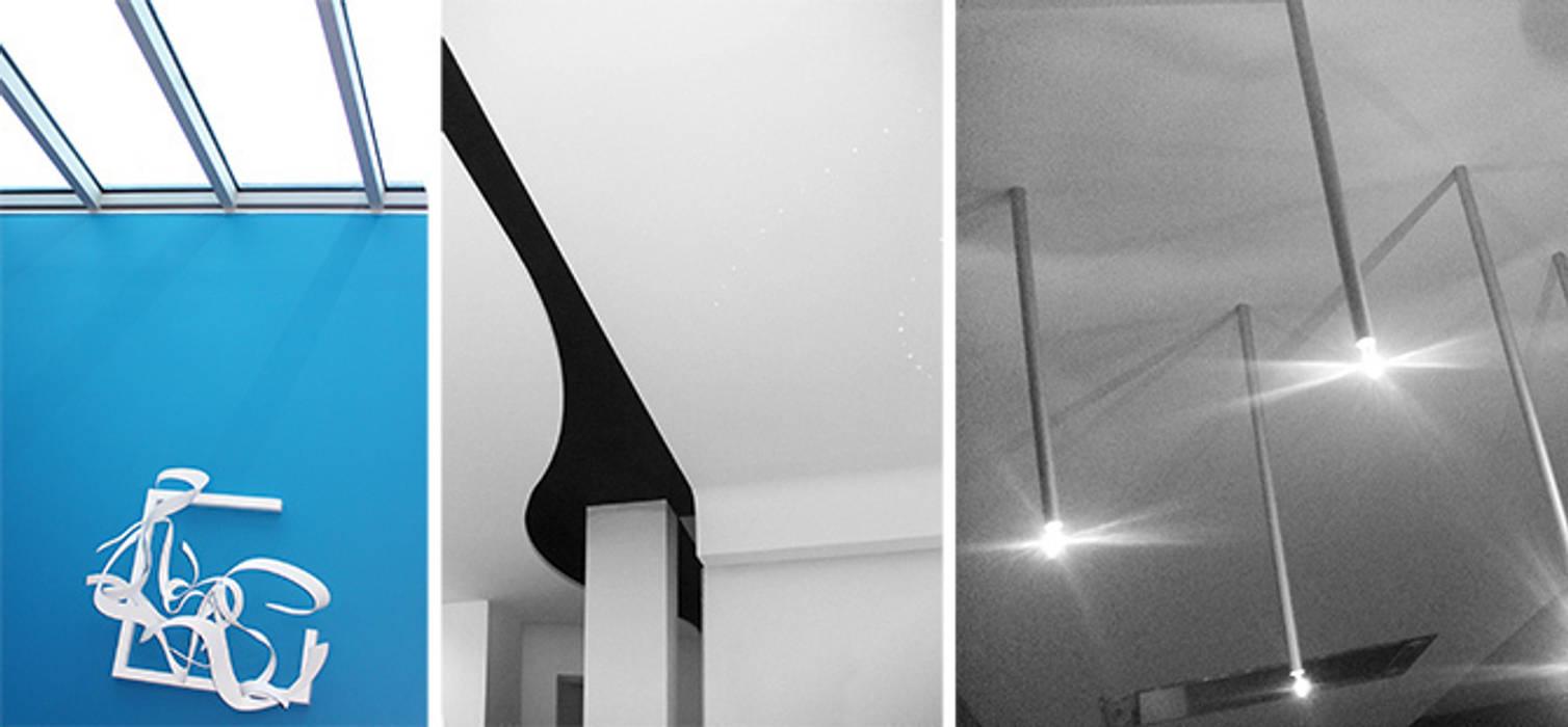 D: Couloir et hall d'entrée de style  par CTERRA - Crystelle Terrasson