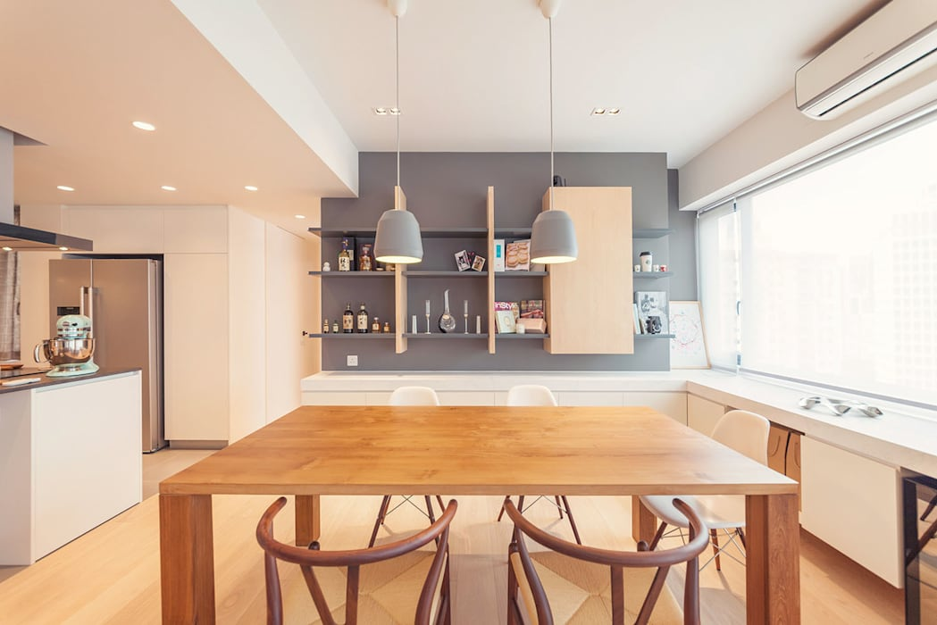 GW's RESIDENCE:  Dining room by arctitudesign