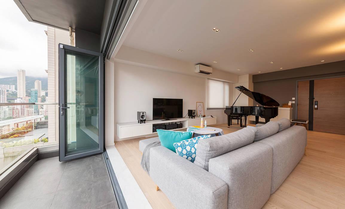 Balcones y terrazas de estilo minimalista de arctitudesign Minimalista