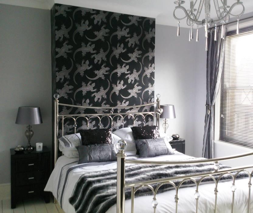 Bedroom Cuartos de estilo ecléctico de Kerry Holden Interiors Ecléctico