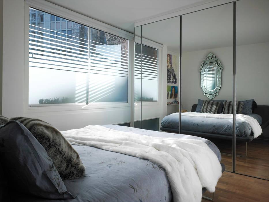 Apartment H Mackay + Partners Kamar Tidur Modern