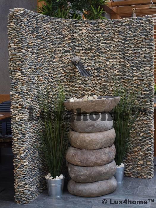 Otoczaki 3D na ścianie: styl , w kategorii Ściany zaprojektowany przez Lux4home™,
