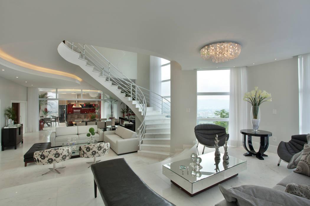 Salas de estilo  por Arquiteto Aquiles Nícolas Kílaris, Moderno