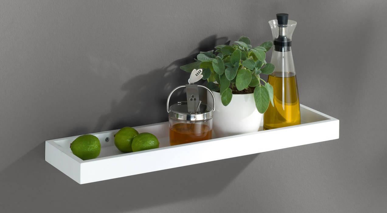 Wandregale – gewürzregal loggia in der küche moderne küchen ...