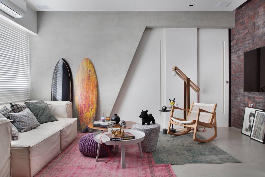 Salas de estilo moderno de Studio ro+ca Moderno