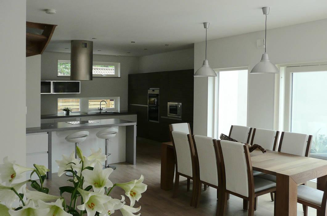 Potters Bank, Durham Кухня в стиле модерн от MWE Architects Модерн