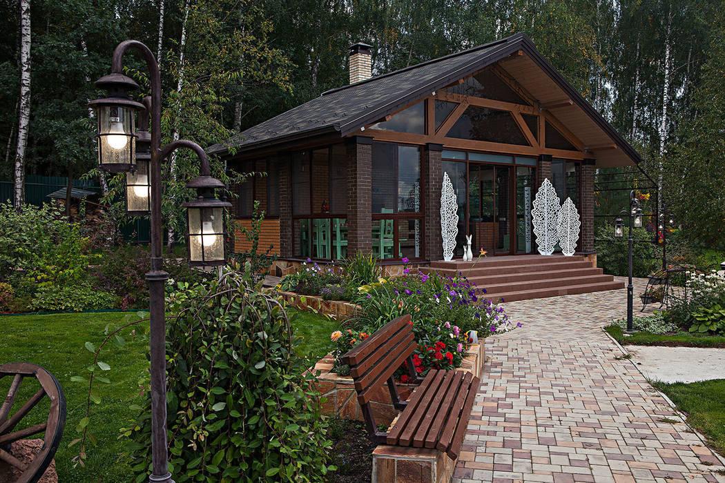 Дом Дома в рустикальном стиле от Николай Карачев Рустикальный