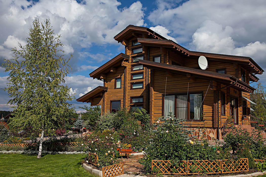 Николай Карачев Rustic style house