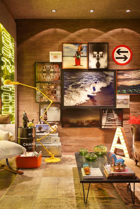 Casa Cor RJ - 2014 Salas de estar industriais por Studio ro+ca Industrial