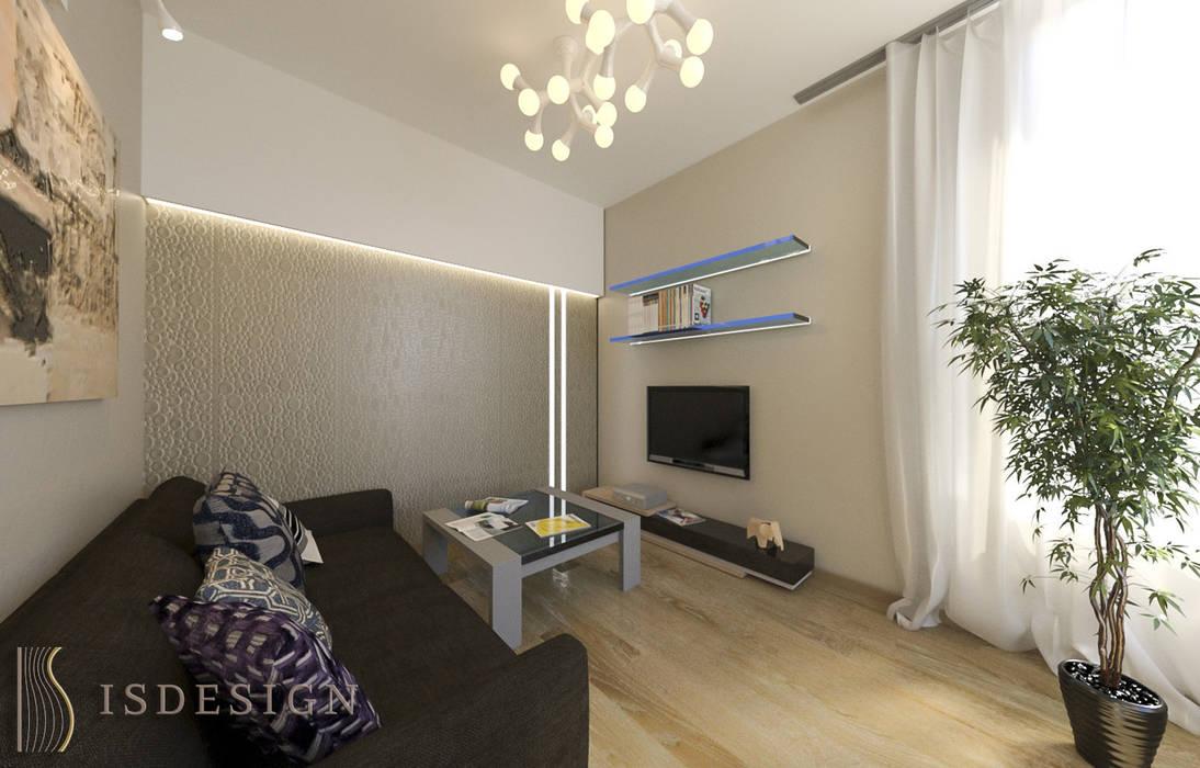 Гостевая комната Спальня в стиле минимализм от ISDesign group s.r.o. Минимализм