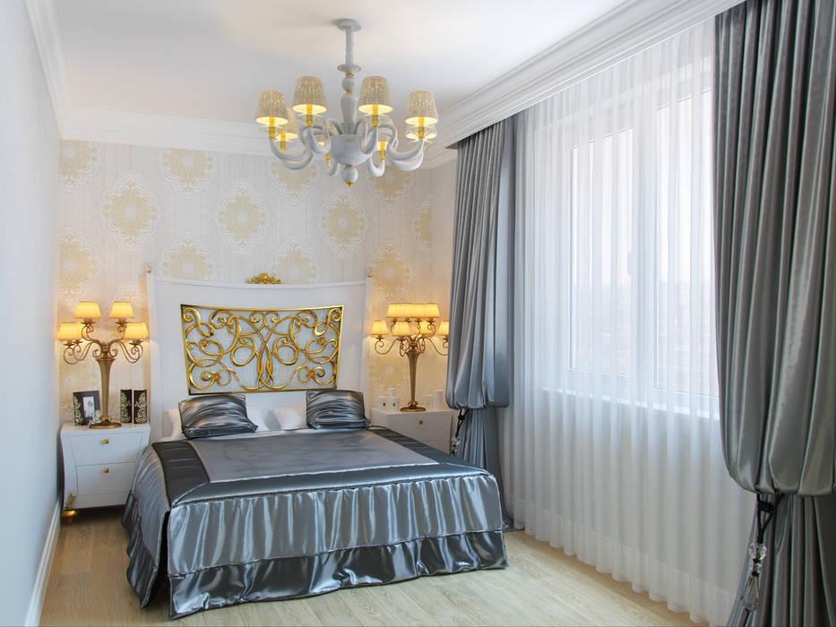 Dormitorios de estilo clásico de Студия дизайна интерьера Маши Марченко Clásico