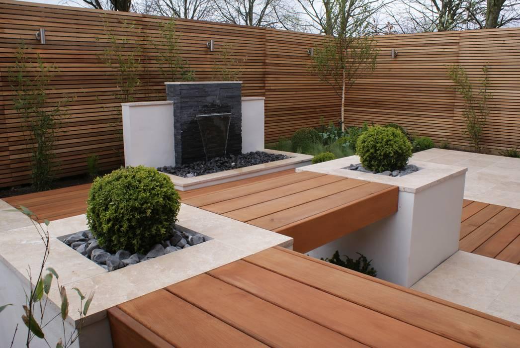 Extended living space - Manchester par Hannah Collins Garden Design Moderne