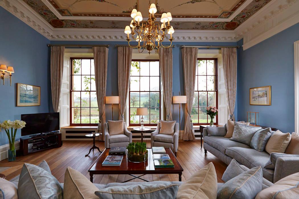 غرفة المعيشة تنفيذ Etons of Bath