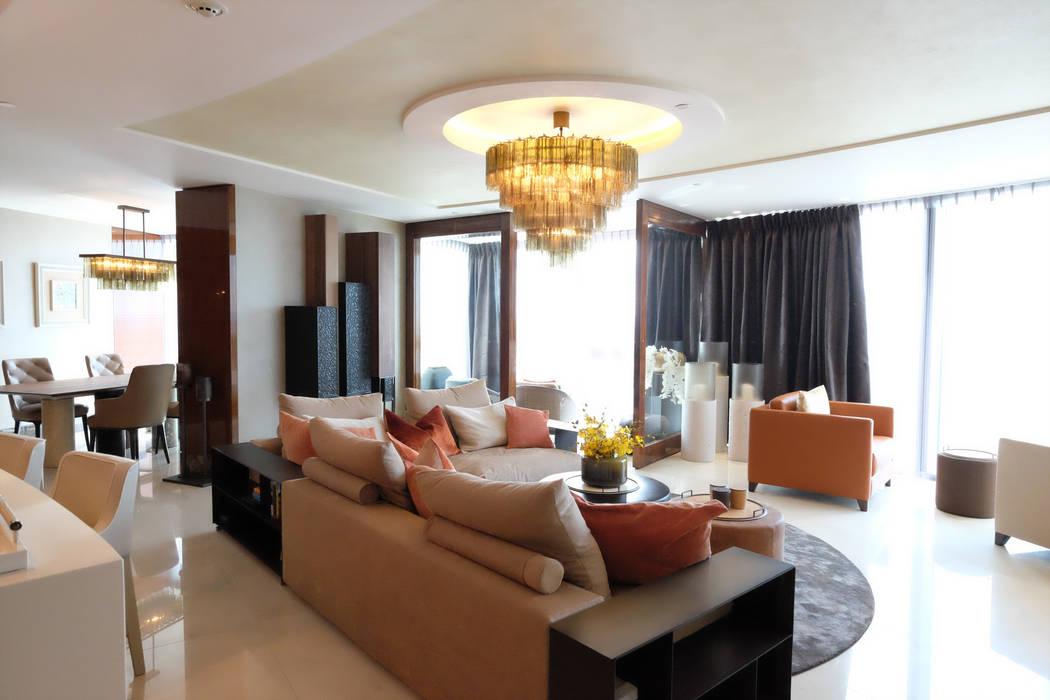 Salon de style  par Keir Townsend Ltd.,