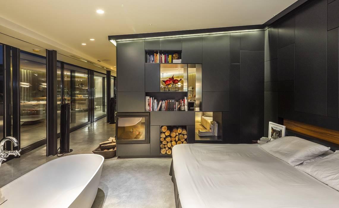 ห้องนอน โดย VelezCarrascoArquitecto VCArq, โมเดิร์น