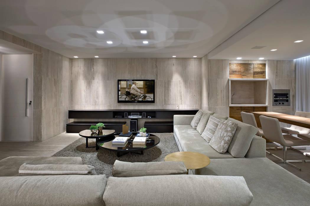 Sala de estar Salas de estar modernas por Fernanda Sperb Arquitetura e interiores Moderno