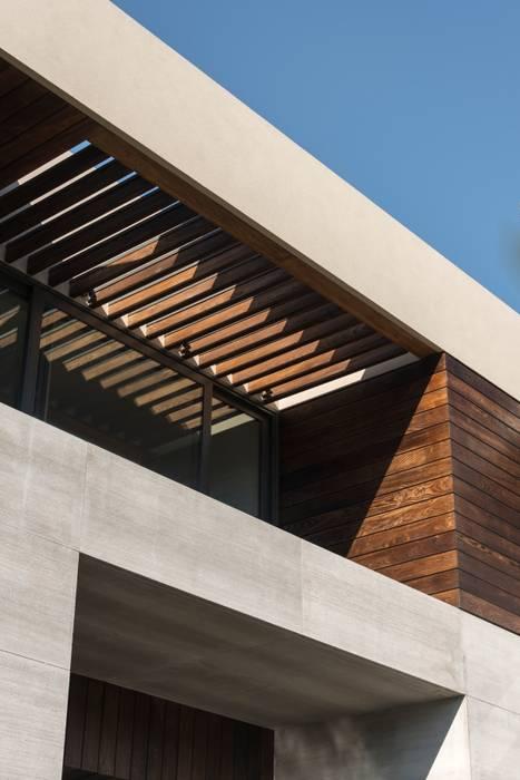 Casa B&B: Terrazas de estilo  por Gantous Arquitectos