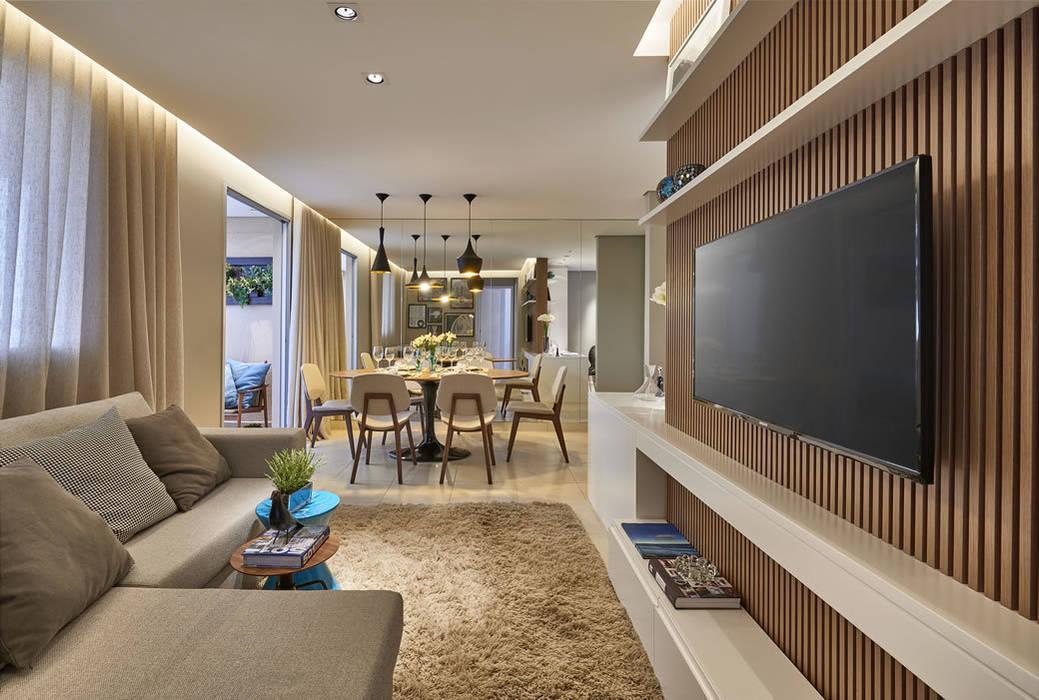 Salas de estar e jantar Salas de estar modernas por Fernanda Sperb Arquitetura e interiores Moderno