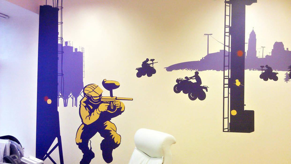 """Оформление офиса  event- агенства  """"Коллекция впечатлений"""": Офисные помещения в . Автор – 33dodo,"""