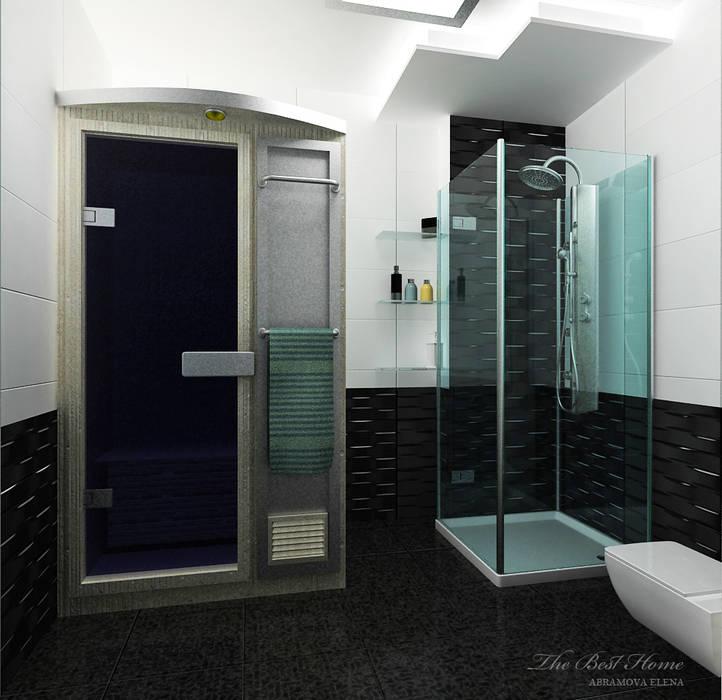 Проект в Москве на Беговой Ванная комната в стиле минимализм от Best Home Минимализм