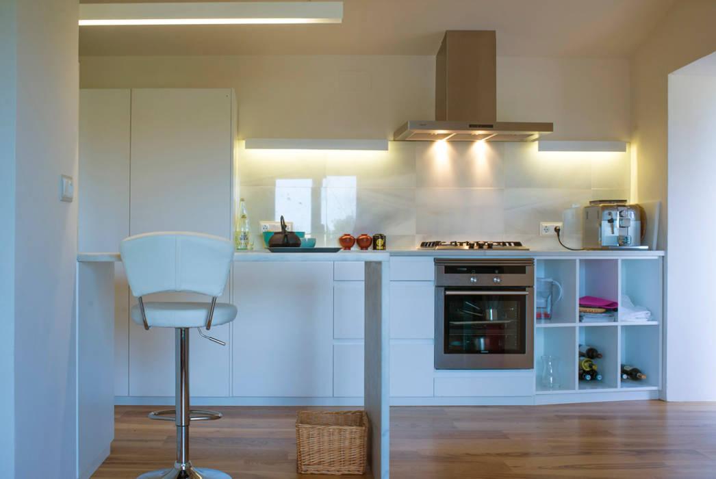 Reforma casa FCN en Onil, Alicante DMP arquitectura Cocinas de estilo moderno