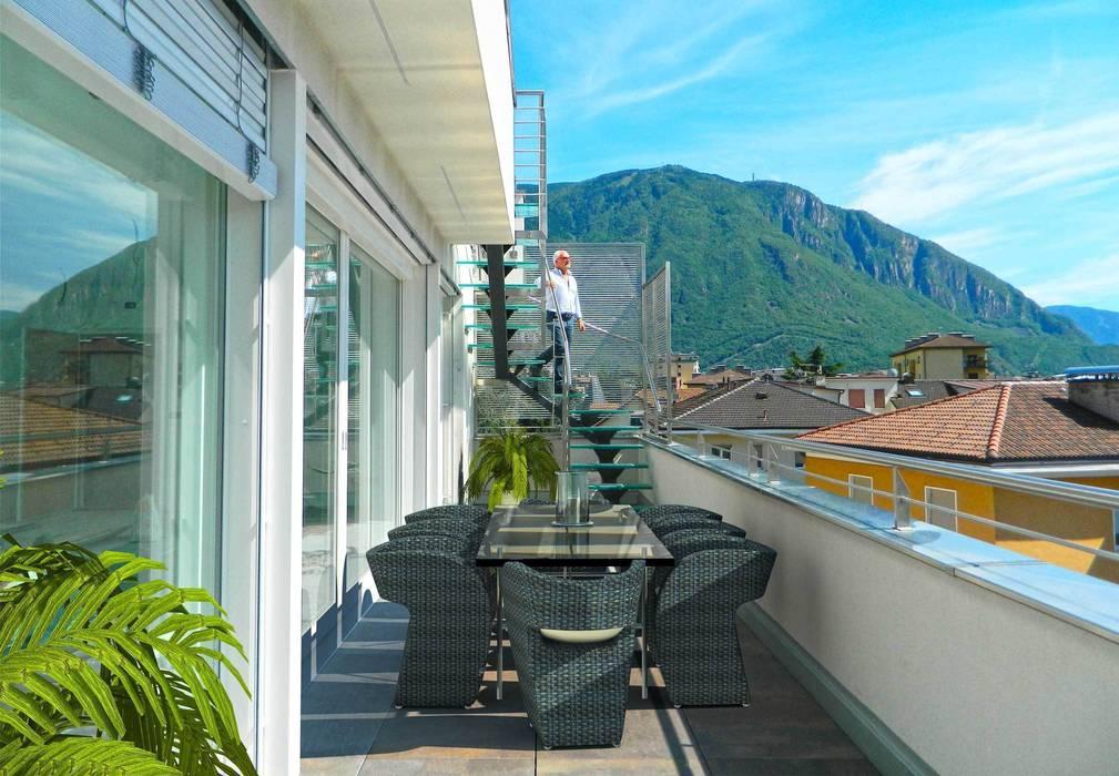 Balcones y terrazas de estilo moderno de Grendene Design Moderno