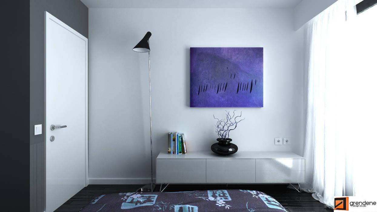 Vista camera da letto unità 2: Camera da letto in stile in stile Moderno di Grendene Design