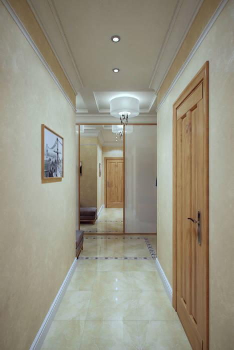 Балтийская Жемчужина Студия интерьера 'SENSE' Коридор, прихожая и лестница в эклектичном стиле
