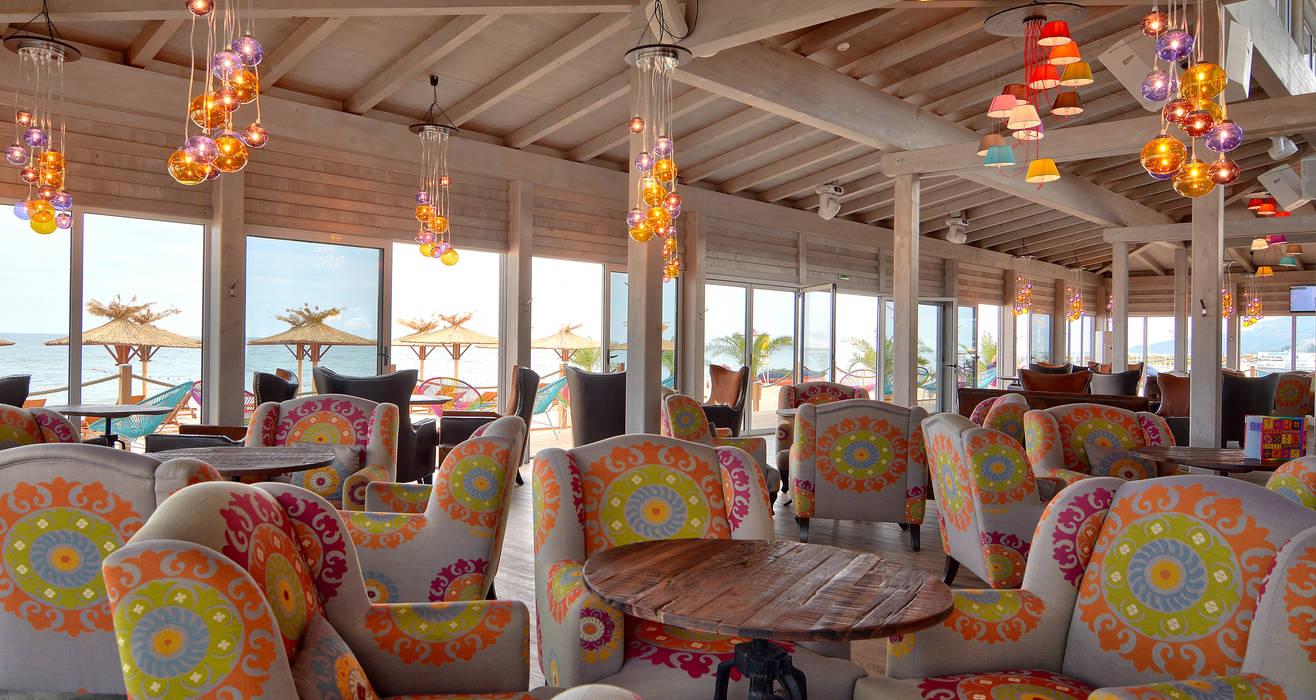 Ganvie Beach Club CHristian Bogner GmbH Living Art Koloniale Bars & Clubs