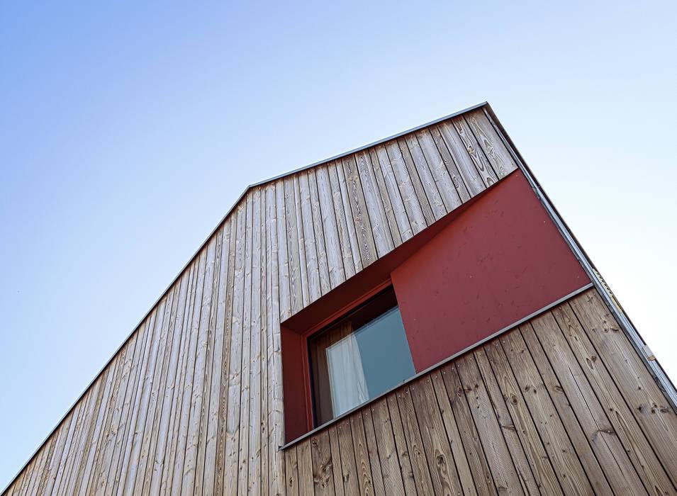 Casas de estilo escandinavo de ArchitekturWerkstatt Vallentin GmbH Escandinavo