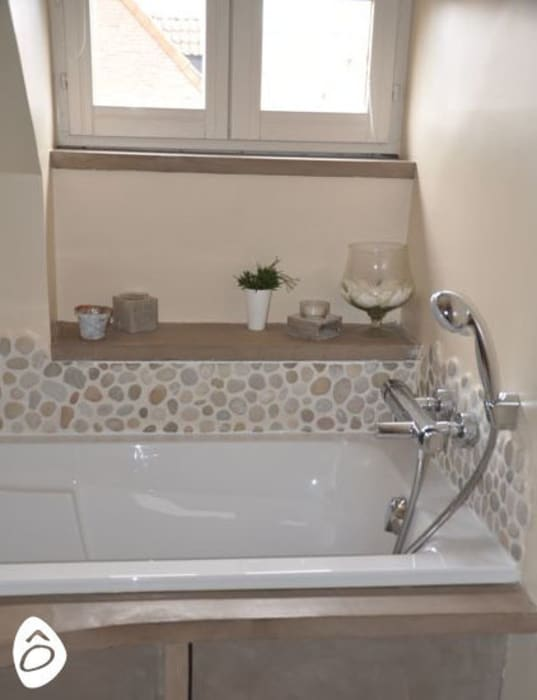 Salle de bain zen: salle de bains de style par idée ô logis | homify