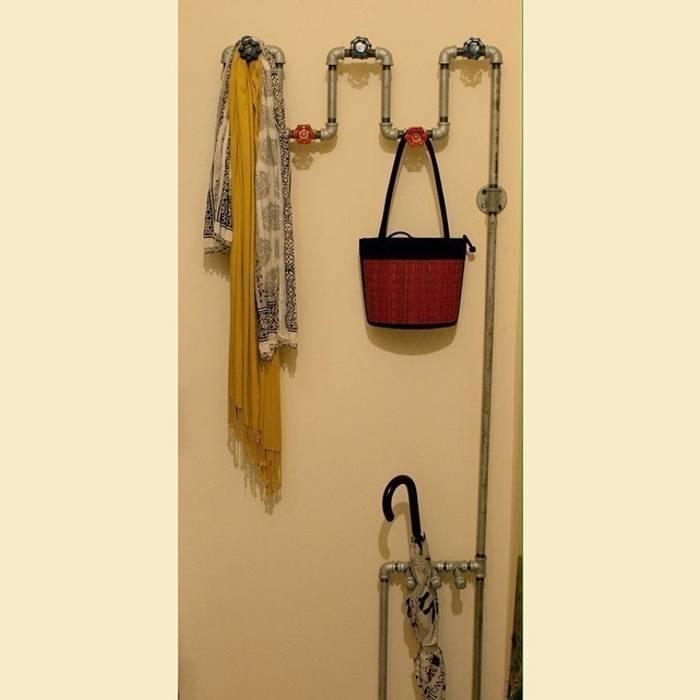 Вешалка для одежды из водопроводных труб от Home Loft Studio Лофт