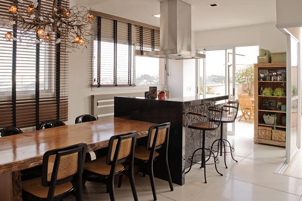 Espaço Gourmet: Cozinhas  por AWDS Arquitetura e Design de Interiores
