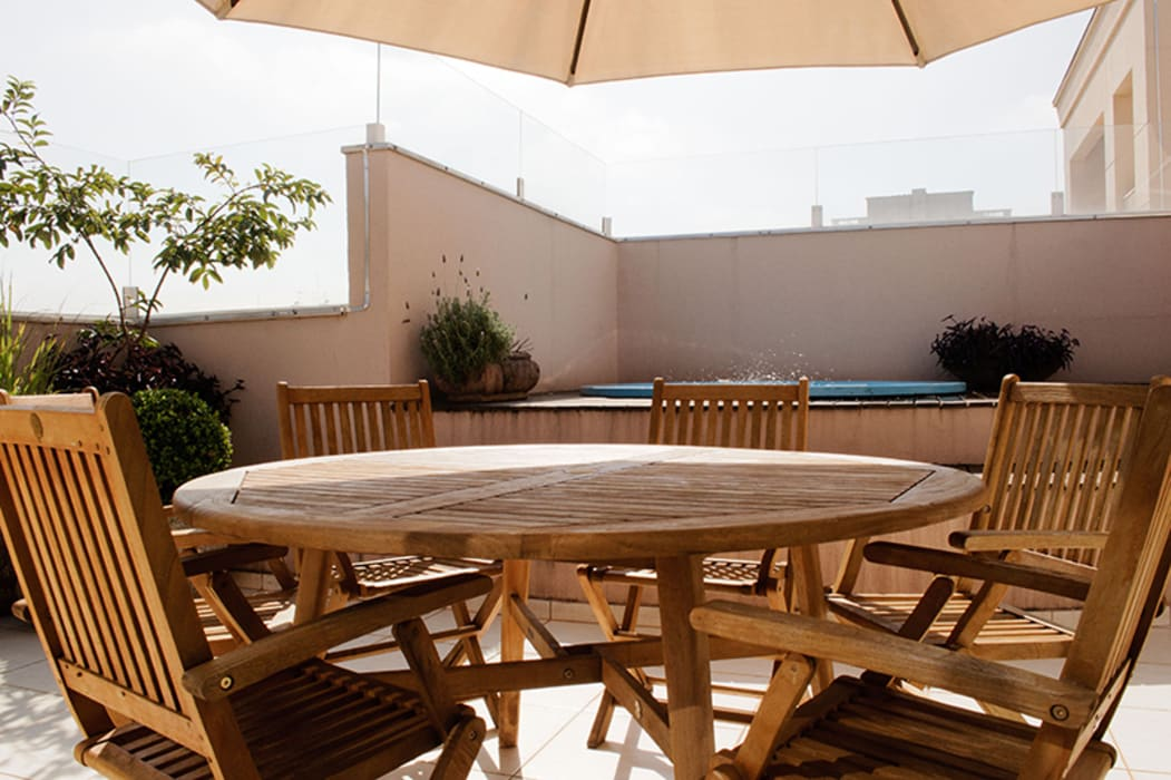 Terraço com Spa: Spas  por AWDS Arquitetura e Design de Interiores