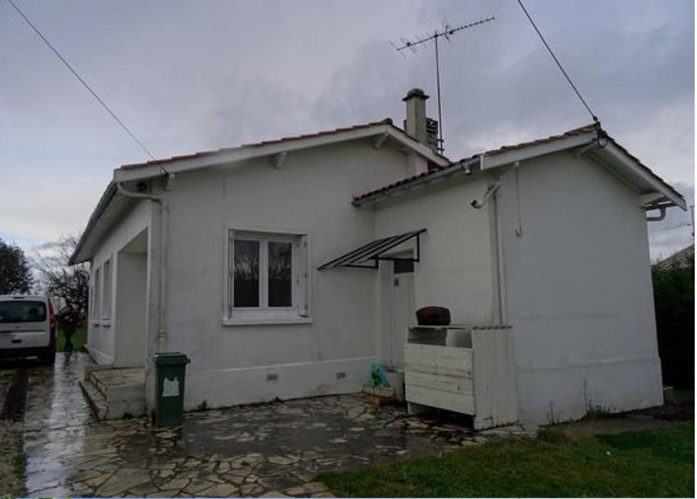 Rénovation et Extension de Maison : Maisons de style  par Clemence de Mierry Grangé
