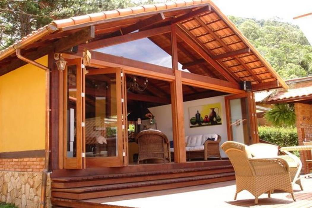 Rumah oleh Cadore Arquitetura, Rustic