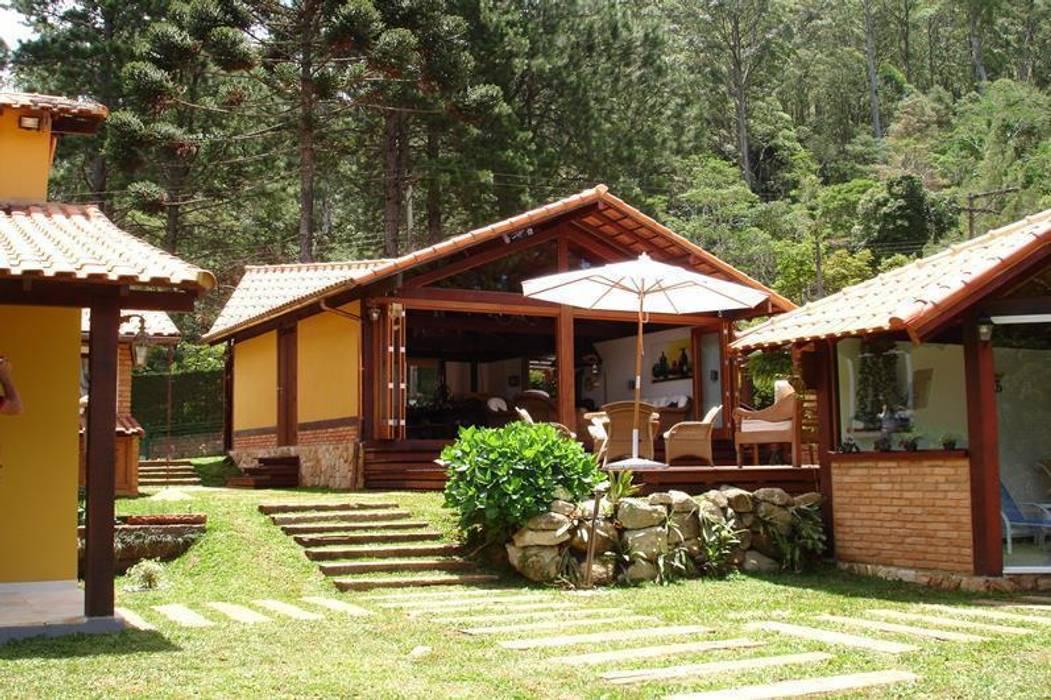 Maisons de style  par Cadore Arquitetura, Rustique