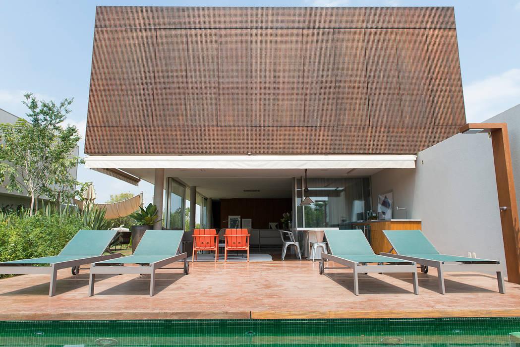 Piscinas campestres por Triplex Arquitetura Campestre