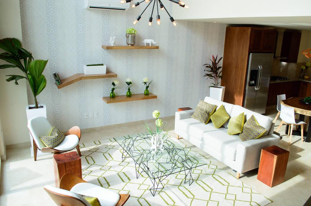 Гостиная в стиле модерн от DECO Designers Модерн