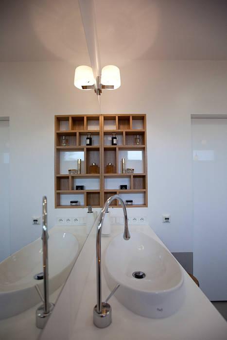 Ванные комнаты в . Автор – anna jaje, Модерн