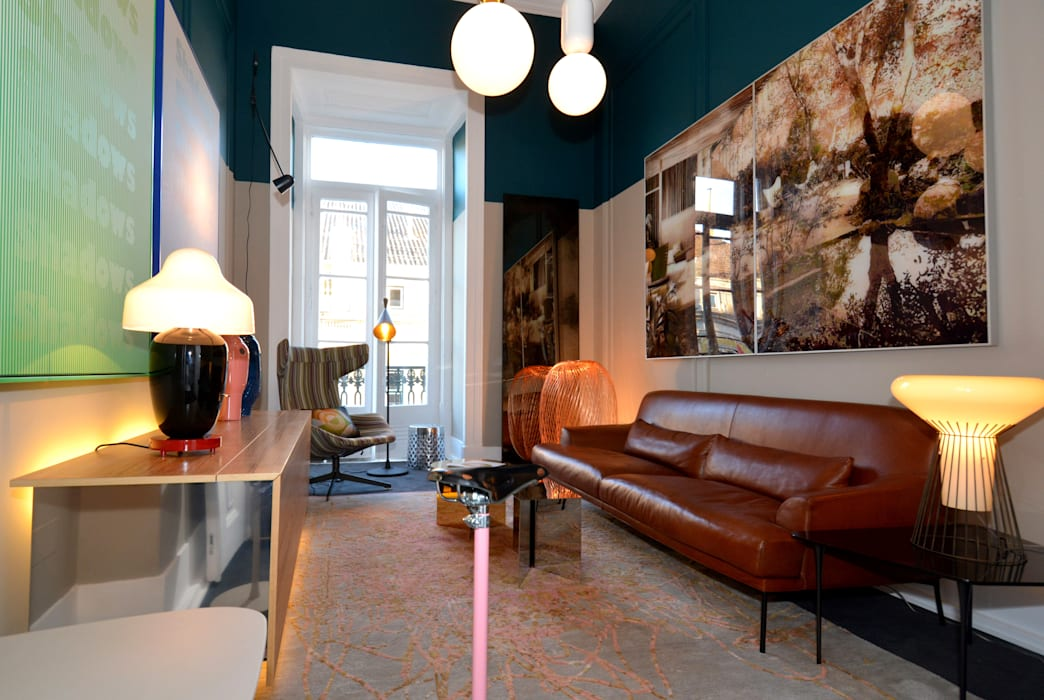 Casa Lisboa -  Interior Design Exhibition 2015: Locais de eventos  por QuartoSala - Home Culture,