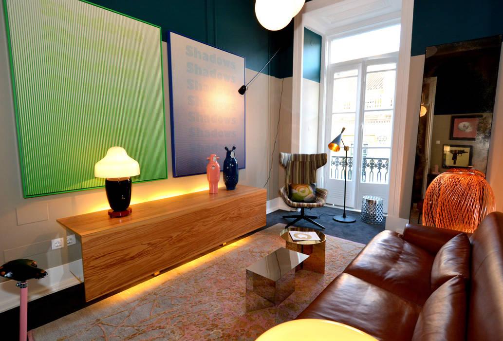 Casa Lisboa - Interior Design Exhibition 2015 Locais de eventos modernos por QuartoSala - Home Culture Moderno